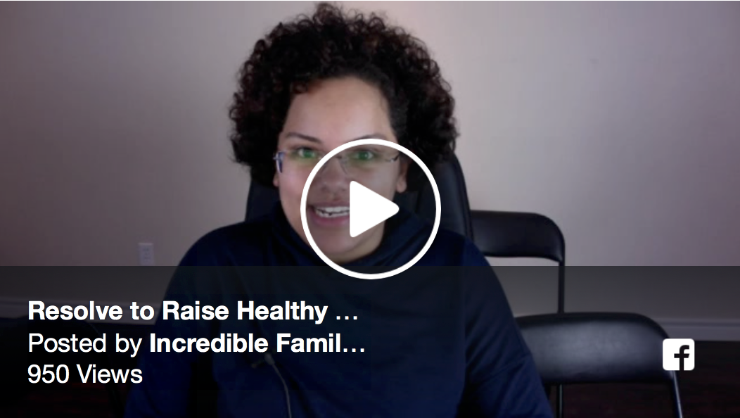 Resolve to Raise Healthy Kids replay